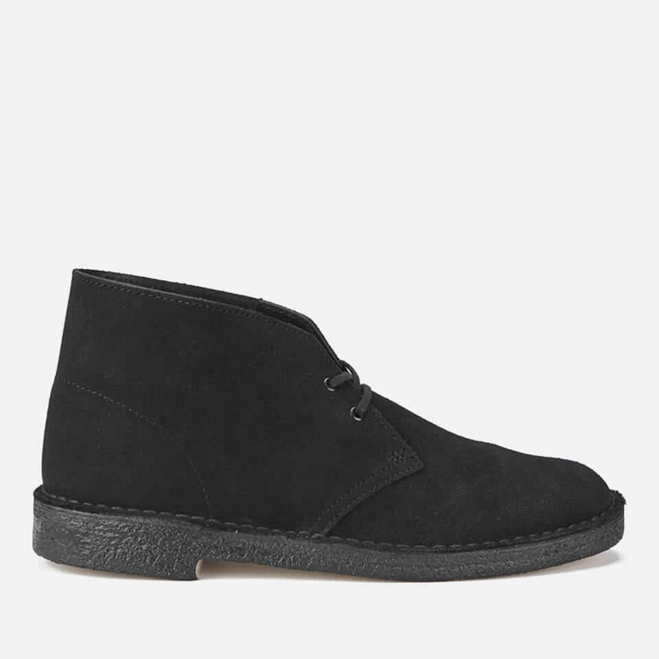 487826b7 Clarks Originals Men's Desert Boots - Black Suede