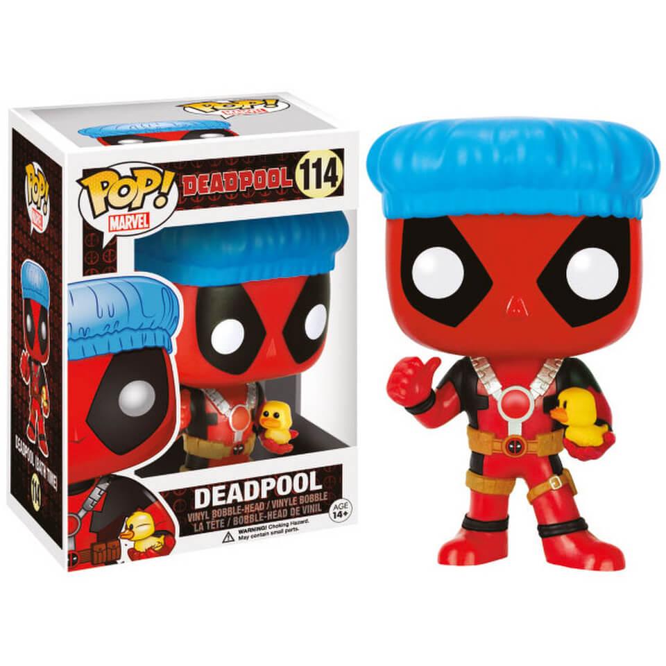 Marvel Deadpool Shower Cap Exclusive Pop Vinyl Figure