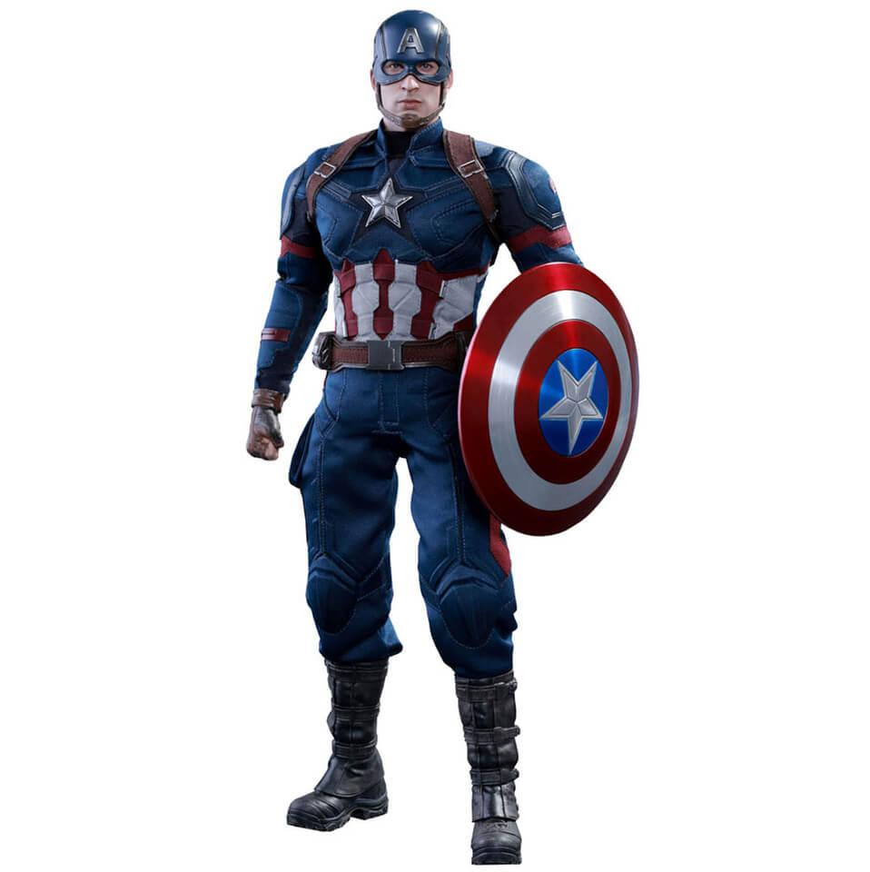 Hot Toys Marvel Captain America Civil War Captain America