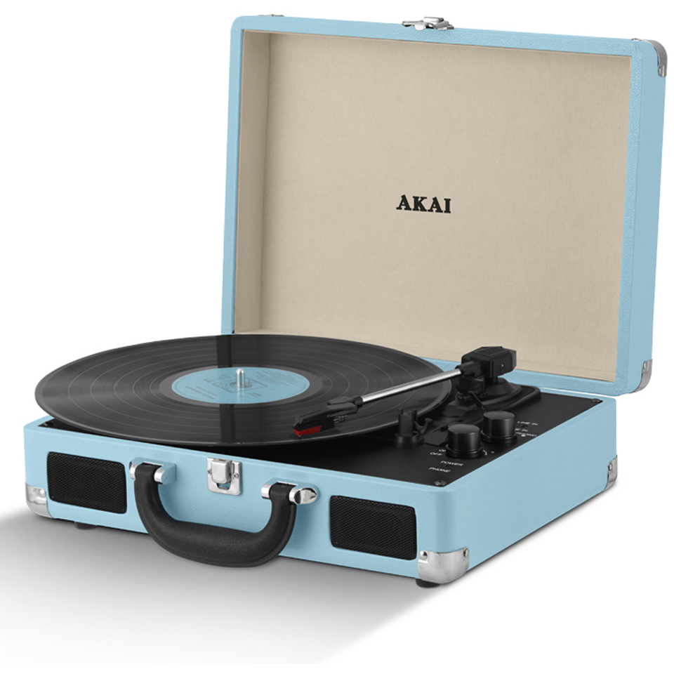 Portable Record Player As Seen On Shark Tank Portable Gas Stove Uk Portable Ssd X5 External Hard Drive Portable Vacuum Ace Hardware: Akai Rechargeable Portable Briefcase Turntable With Built