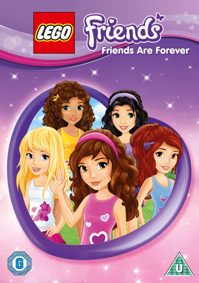 lego friends friends are forever dvd zavvi