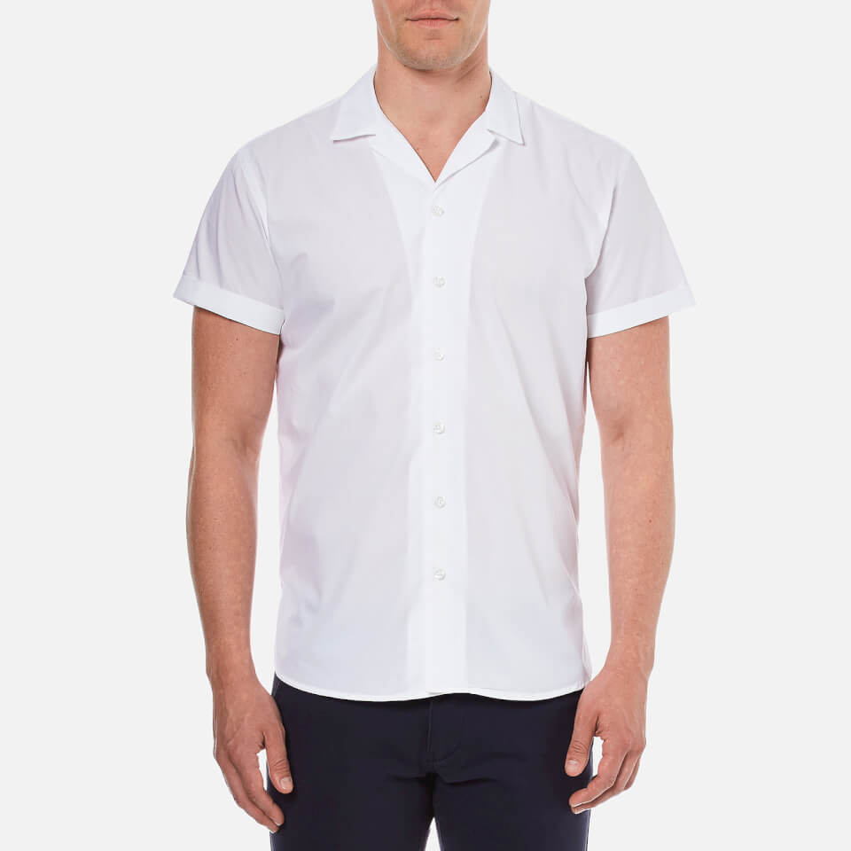 Selected Homme Men 39 S Short Sleeve Shirt Bright White