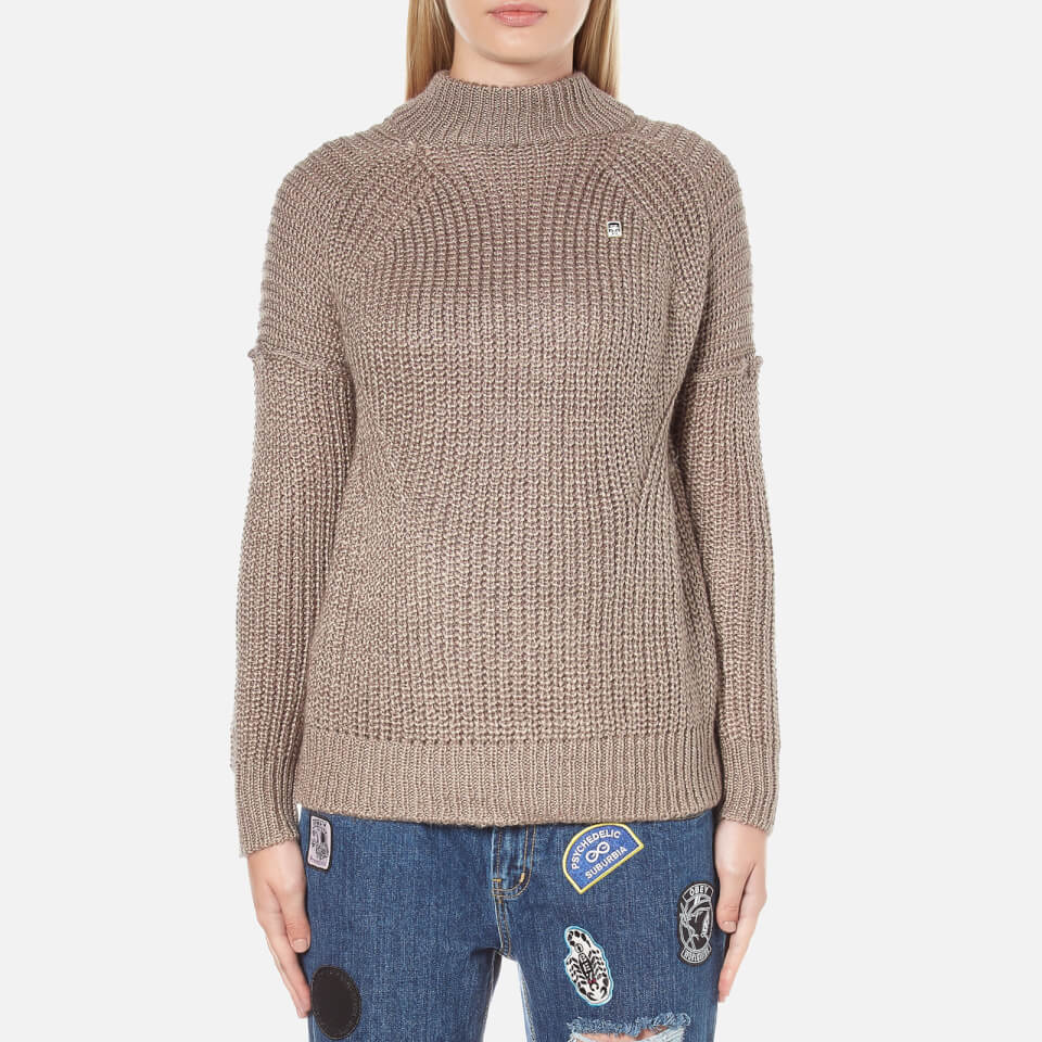 obey clothing women 39 s barnette pullover antler womens clothing. Black Bedroom Furniture Sets. Home Design Ideas