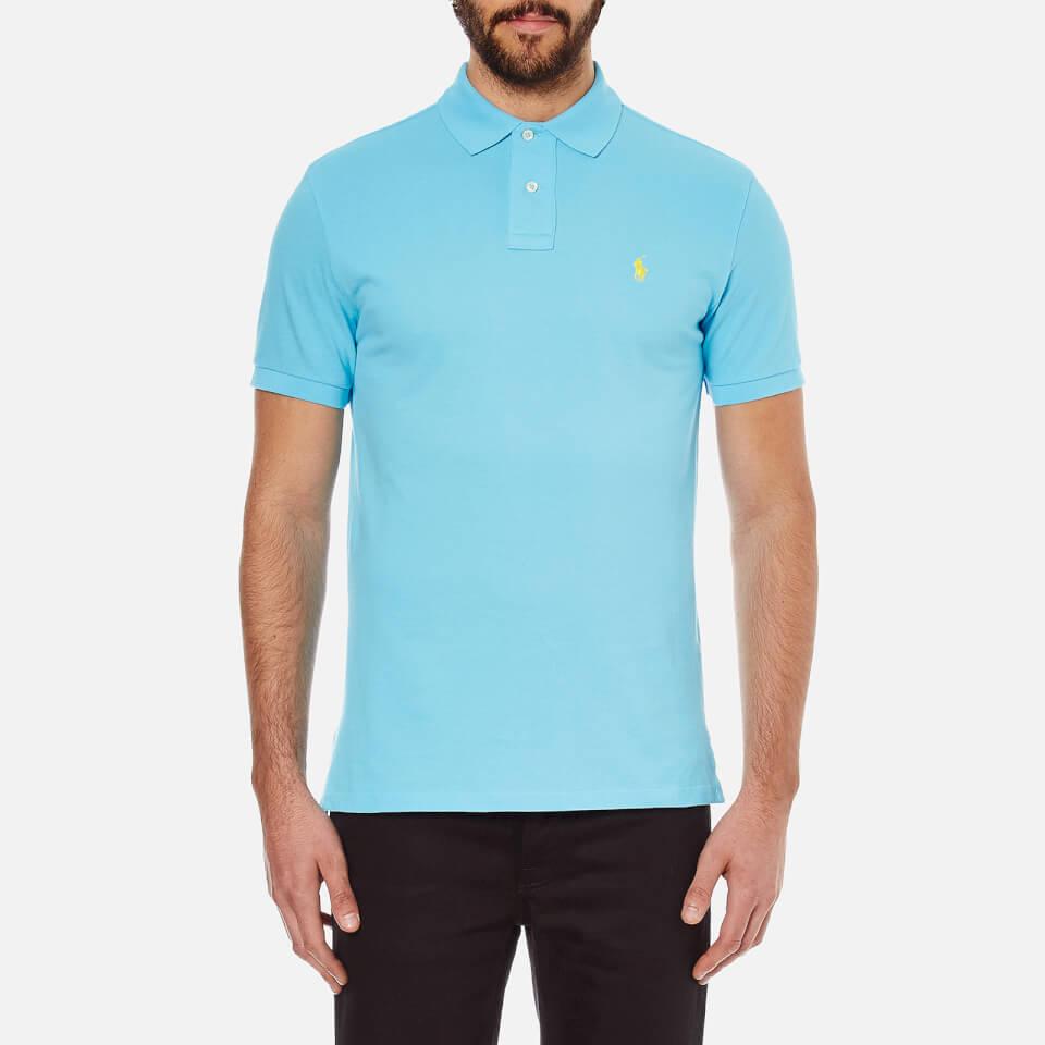Polo ralph lauren men 39 s custom fit polo shirt french for Staples custom t shirts