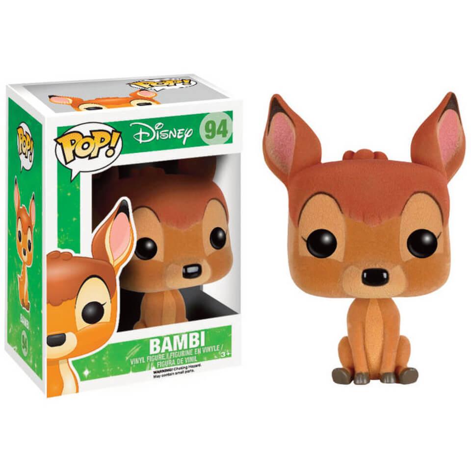 Disney Bambi Flocked Pop Vinyl Figure Merchandise Zavvi Com
