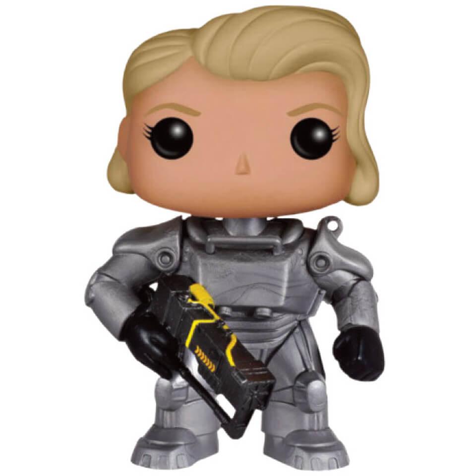 Figurine Funko Pop Fallout 4 Unmasked Female Power Armor