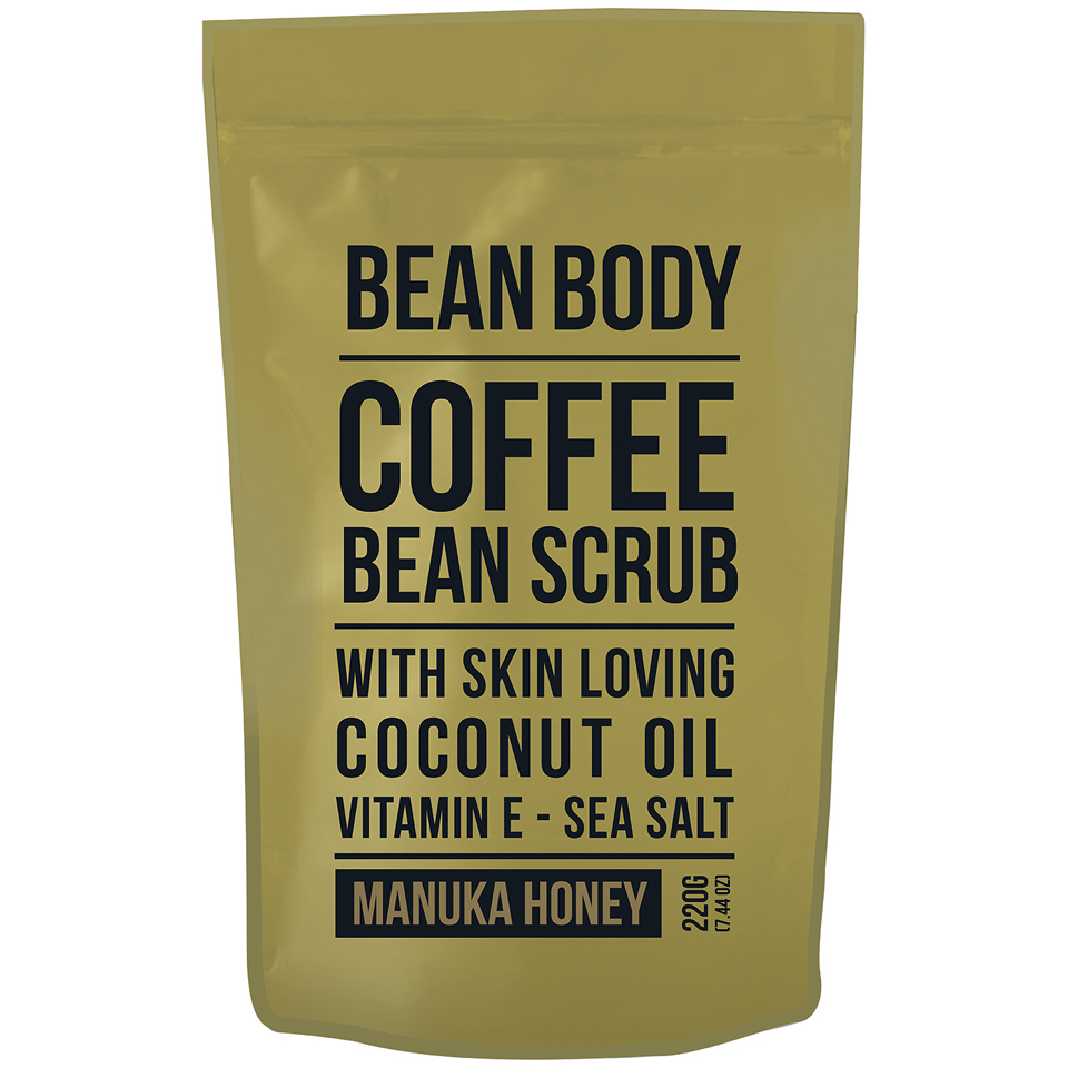 Buy Bean Body Coffee Bean Scrub 220g Manuka Honey