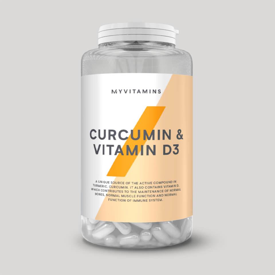 Myvitamins Curcumin & Vitamin D Capsules | Misc. Nutrition