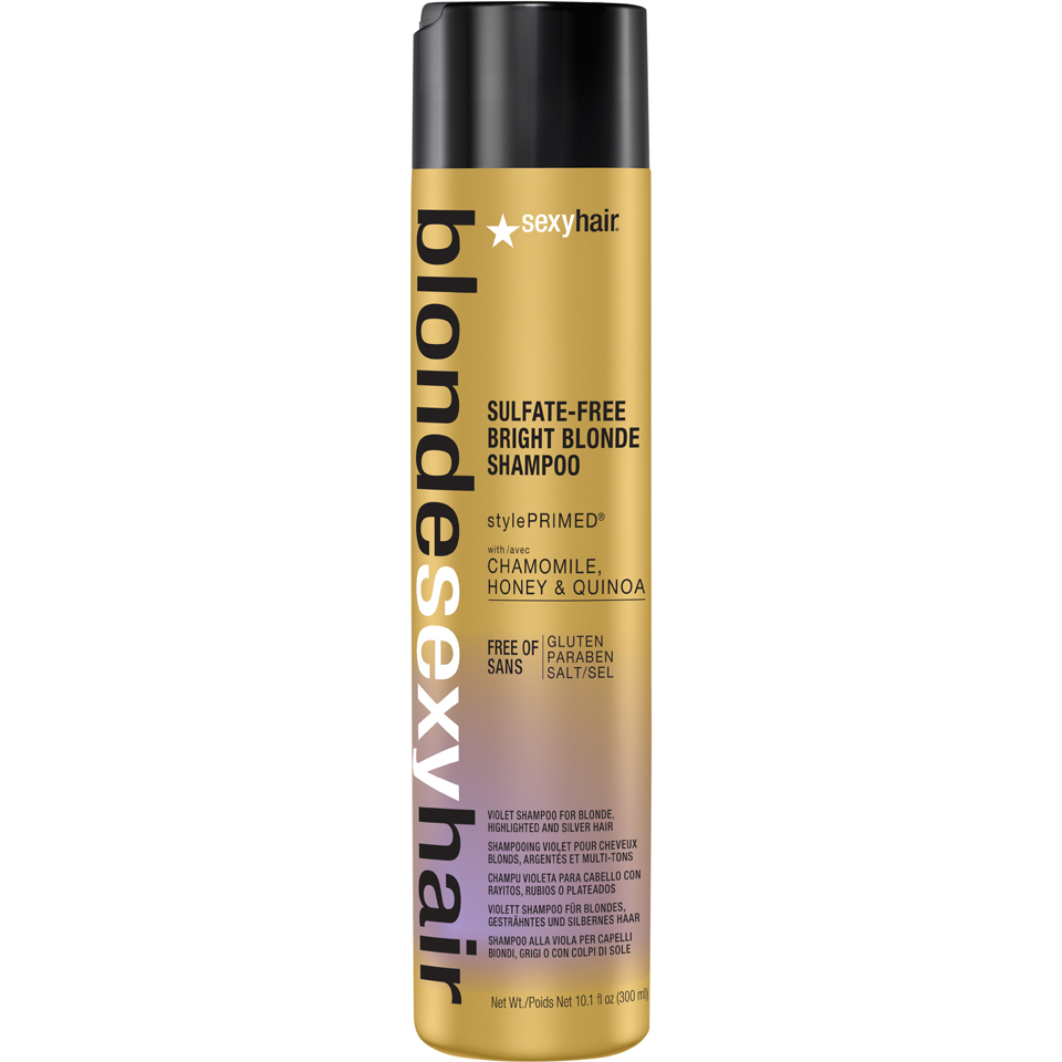 Sexy Hair Blonde Bright Blonde Violet Shampoo 300ml Health