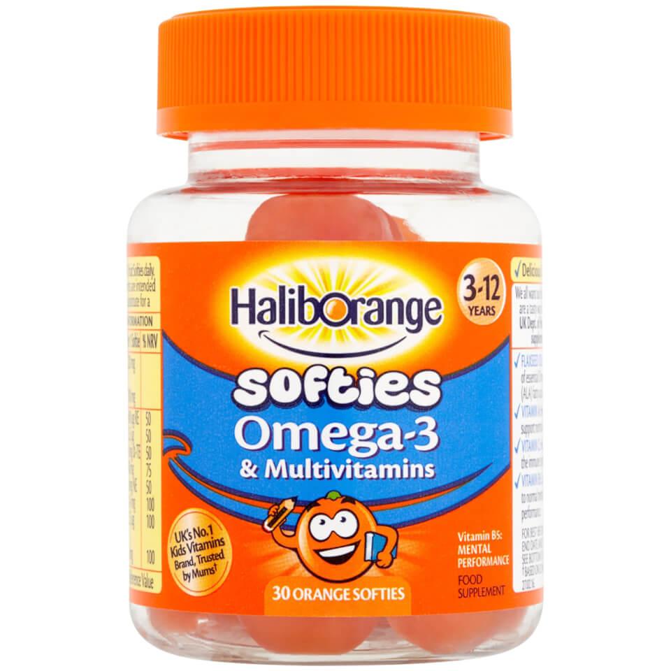Orange multivitamin
