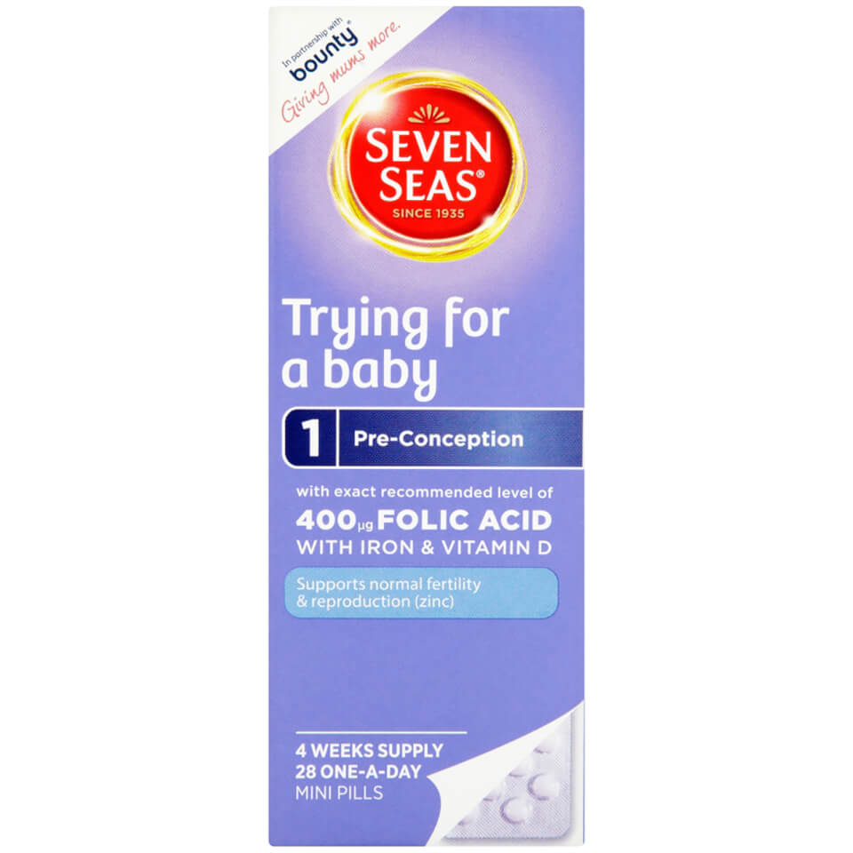 Buy Seven Seas Trying For A Baby Vitamins 28 Tablets