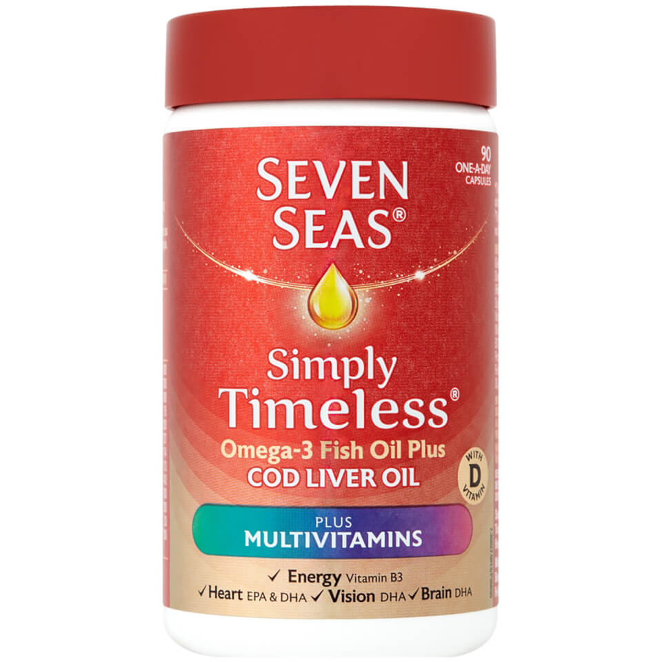 Buy Seven Seas Cod Liver Oil Plus Multivitamins 90