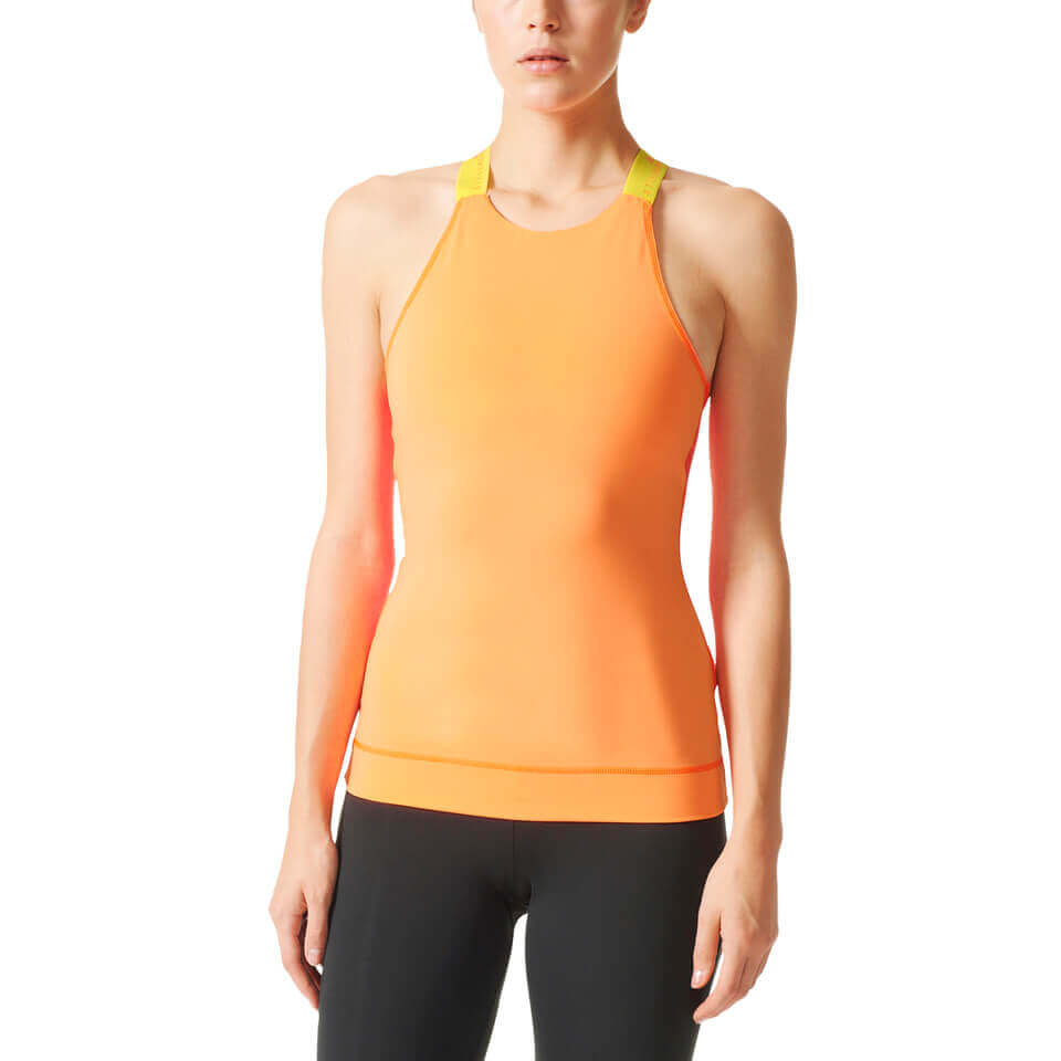 adidas Women's Stellasport Gym Tank Top - Blue/Green | Jerseys