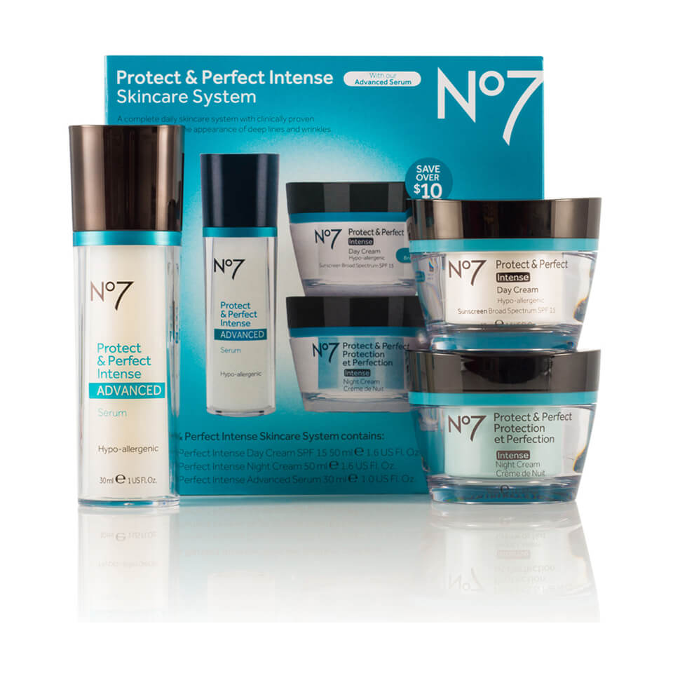 boots no 7 protect and perfect intense skincare system