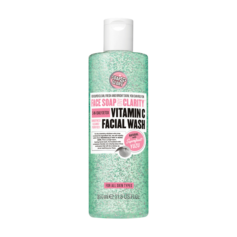 Soap And Glory Face Soap And Clarity 3 In 1 Daily Detox