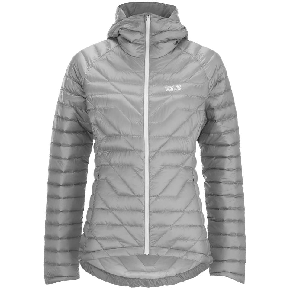 8128963c8da7 Jack Wolfskin Women s Argo Supreme Down Jacket - Alloy Womens Clothing