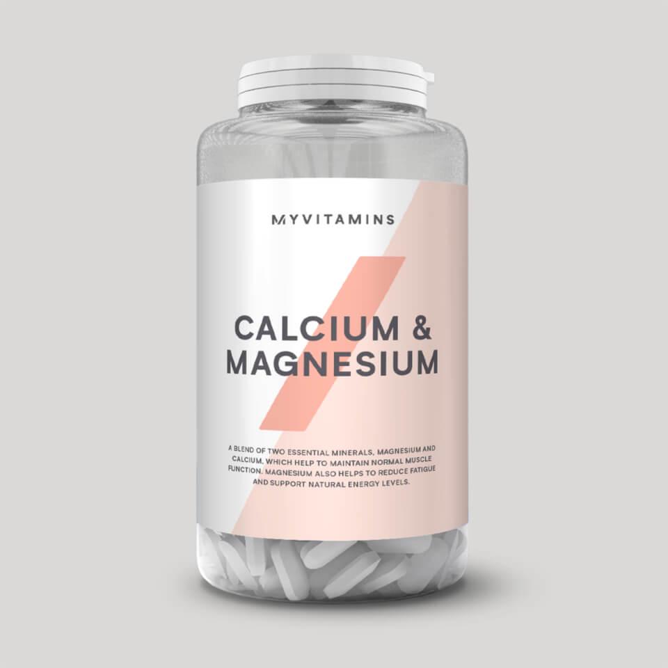 Myvitamins Calcium & Magnesium Tablets | Freehub body