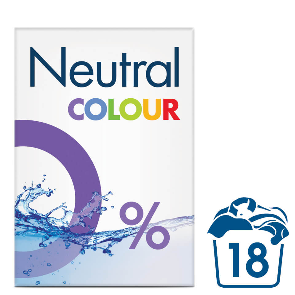 Neutral 0% Colour Laundry Washing Powder - 1.188kg - FREE ...
