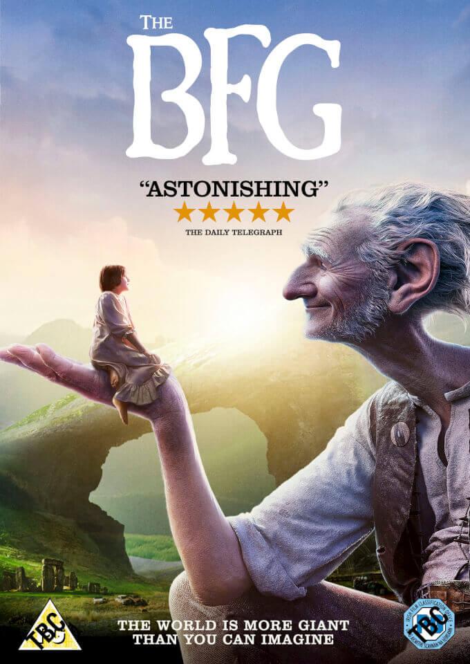 Bfg Dvd Cover: The BFG DVD