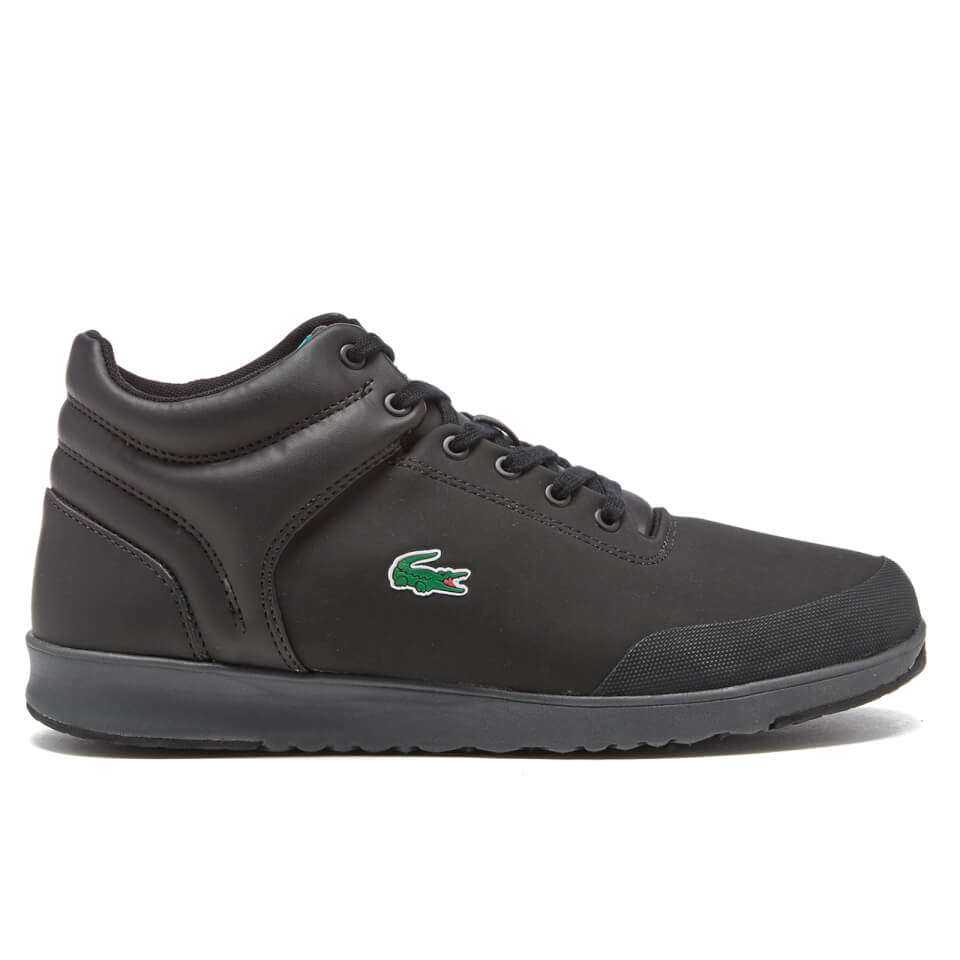 30aaac12d044 Lacoste Men s Tarru-Light 416 1 Hi-Top Trainers - Black Mens Footwear