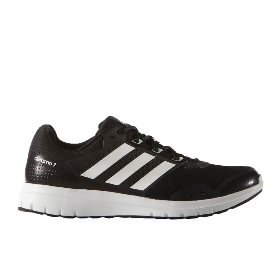 adidas Men's Duramo 7 Running Shoes - Black/White