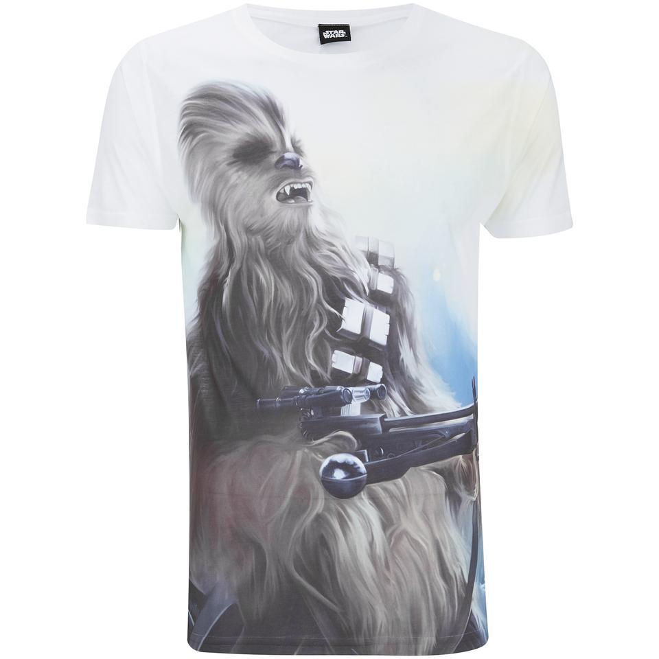 Star Wars Men S Chewbacca T Shirt White Merchandise Zavvi