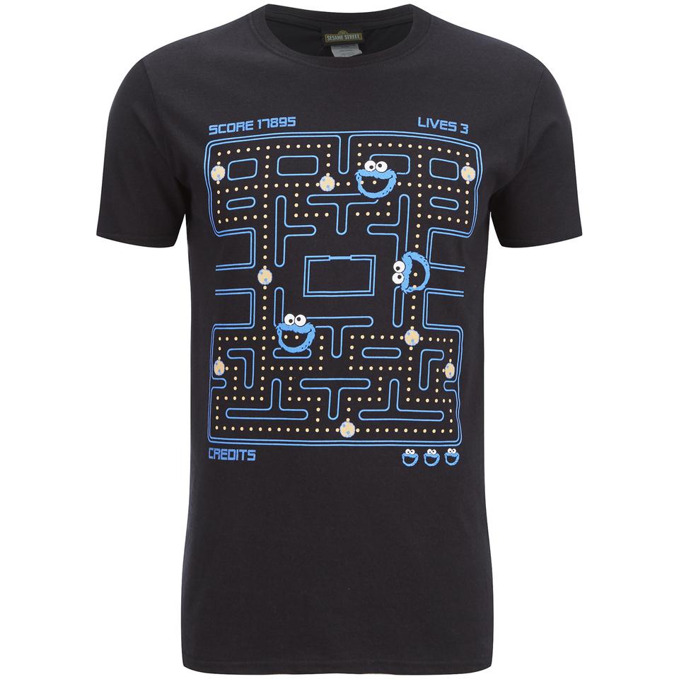 Cookie Monster Men S Gaming Cookie Monster T Shirt Black