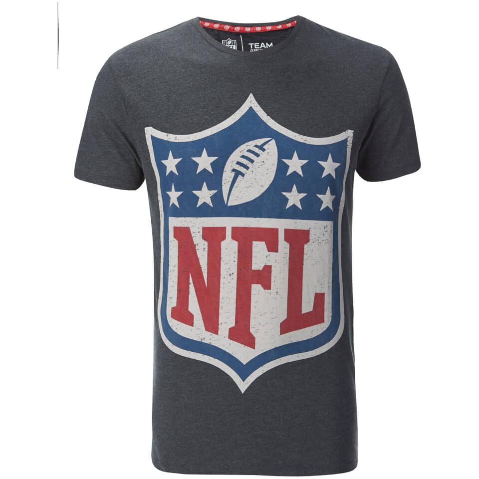 NFL Mens Logo TShirt  Grey Clothing  Zavvi