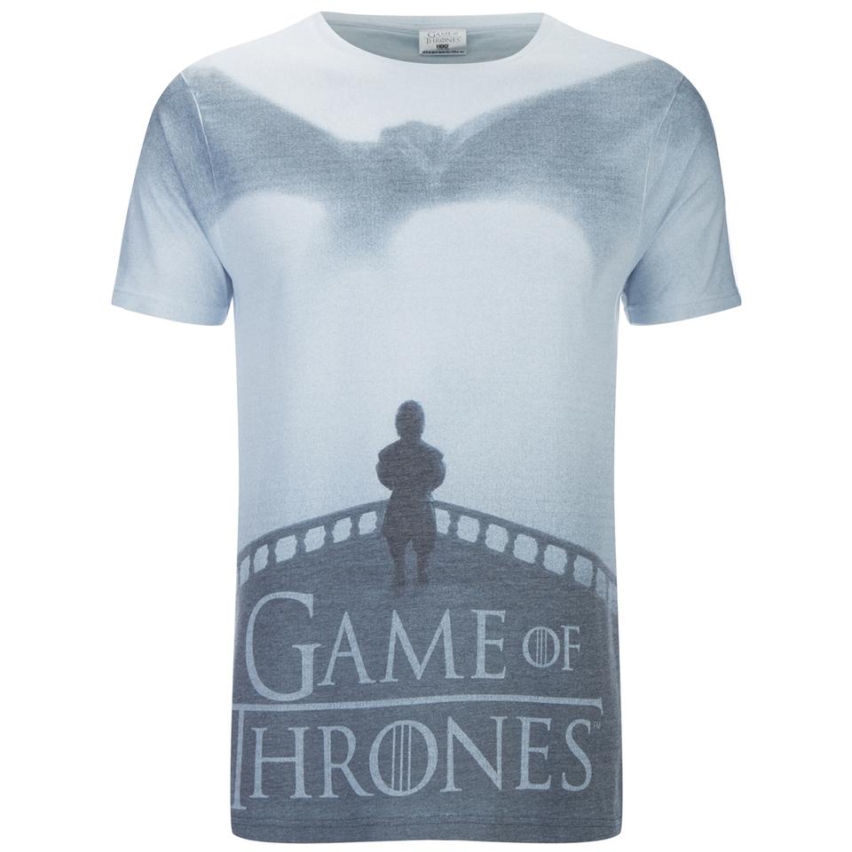 Game of thrones men 39 s dragon tyrion t shirt white for Game of thrones dress shirt