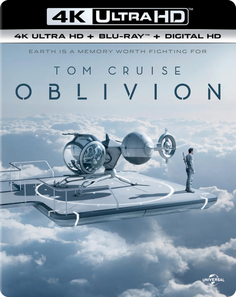 oblivion 4k ultra hd includes ultraviolet copy blu ray. Black Bedroom Furniture Sets. Home Design Ideas