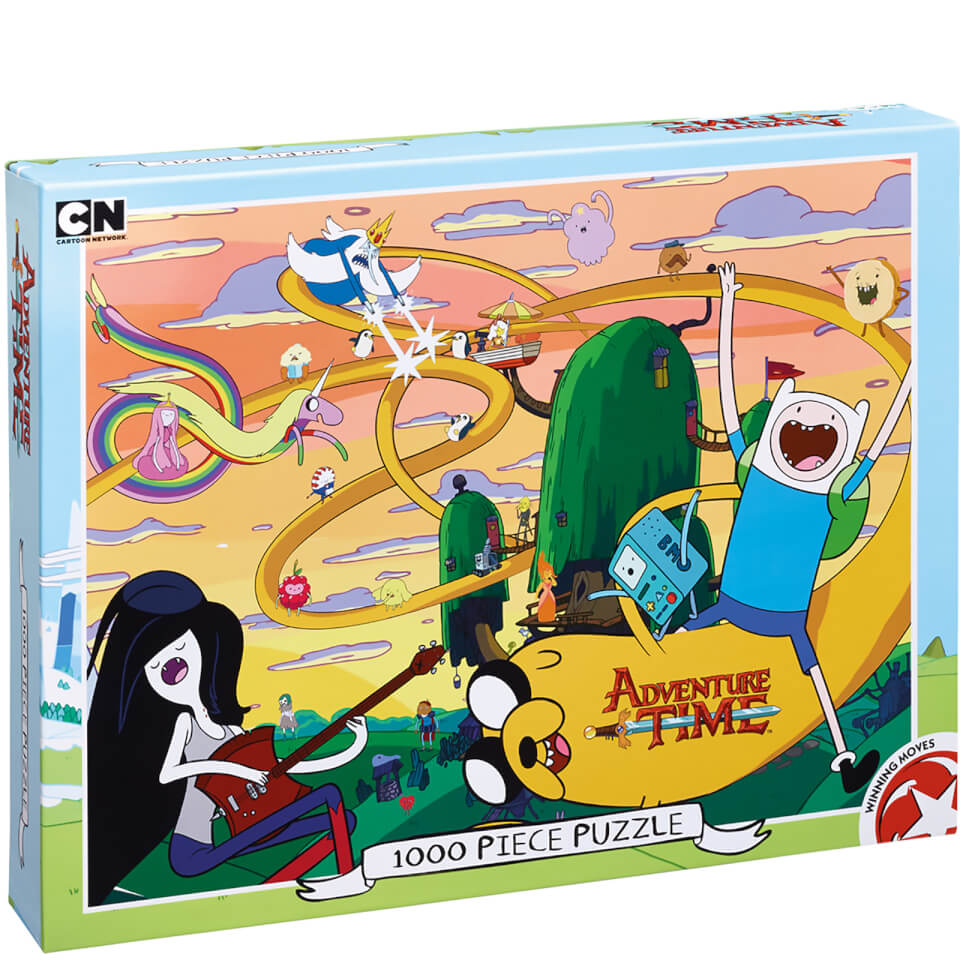 Adventure Time Puzzle 1000 Pieces Toys Zavvi