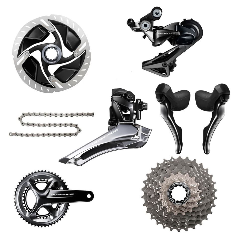 Shimano Dura Ace R9120 11 Speed Groupset - Hydraulic Disc Brake   Geargrupper