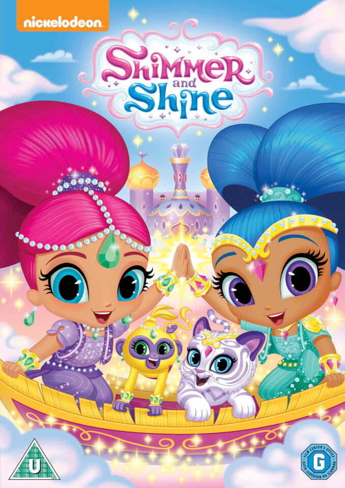 Shimmer And Shine Dvd Zavvi