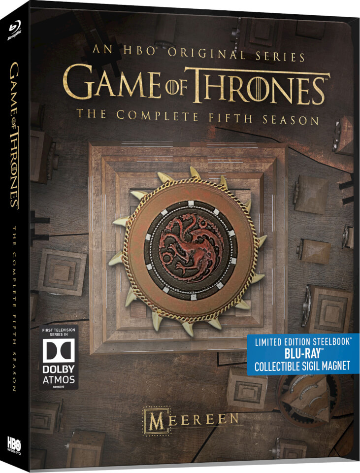 Game Of Thrones Season 5 Steelbook Blu Ray Zavvi