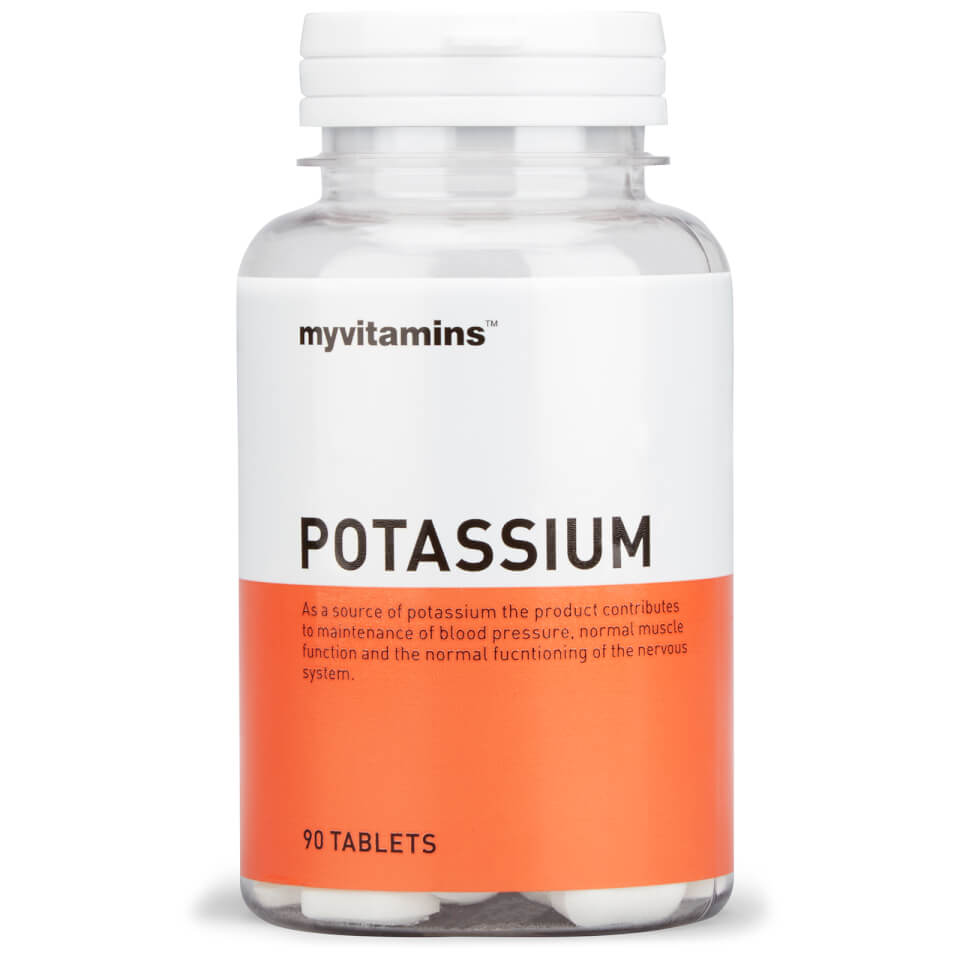 Potassium Tablets 300mg Potassium Supplement Myvitamins