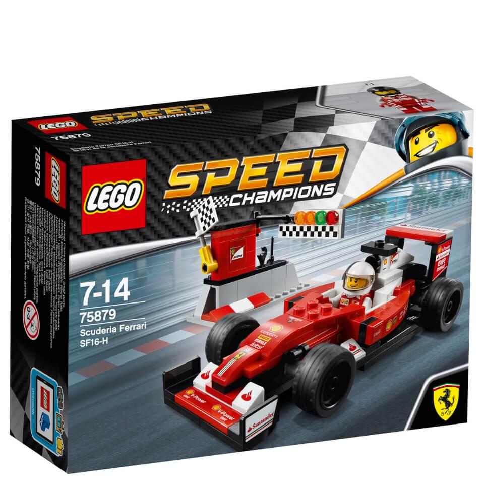 lego speed champions scuderia ferrari sf16 h 75879 toys. Black Bedroom Furniture Sets. Home Design Ideas