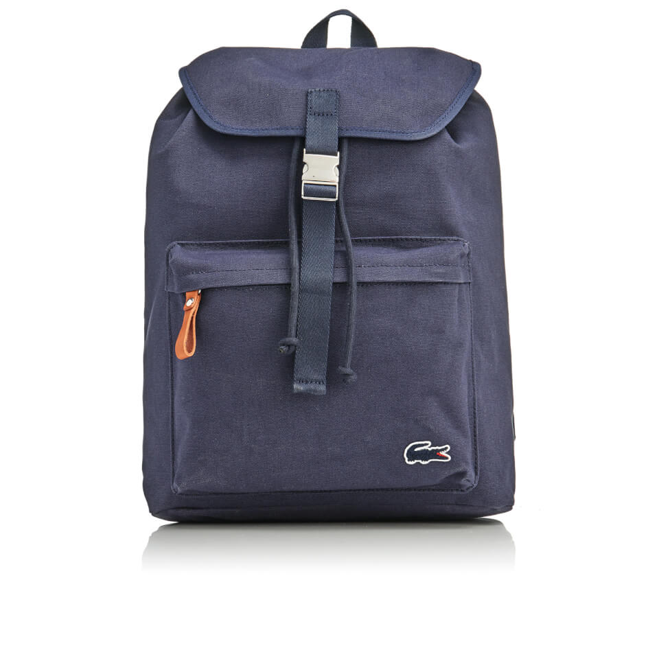 Lacoste Men 39 S Flap Backpack Navy