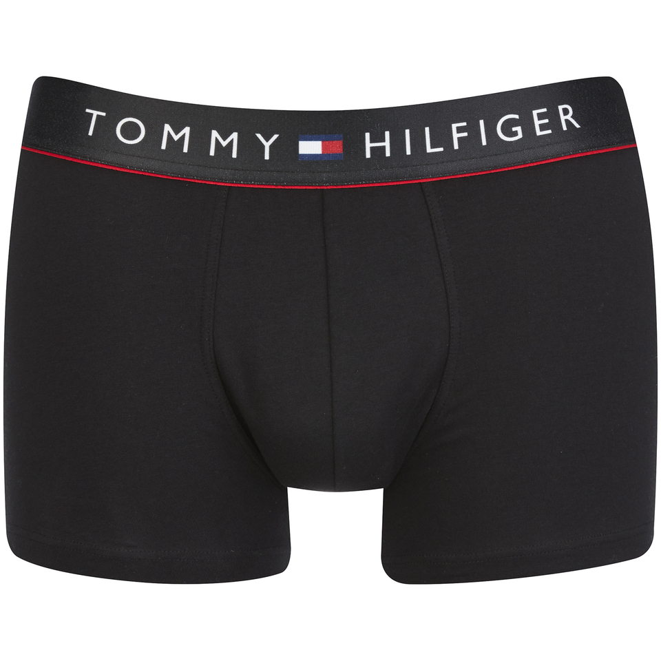Tommy Hilfiger Men S Flex Boxer Shorts Black Mens