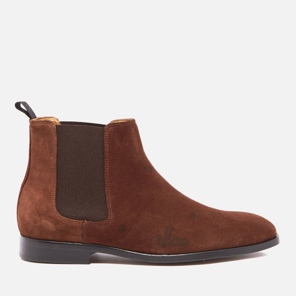Ps By Paul Smith Men S Gerald Suede Chelsea Boots Snuff