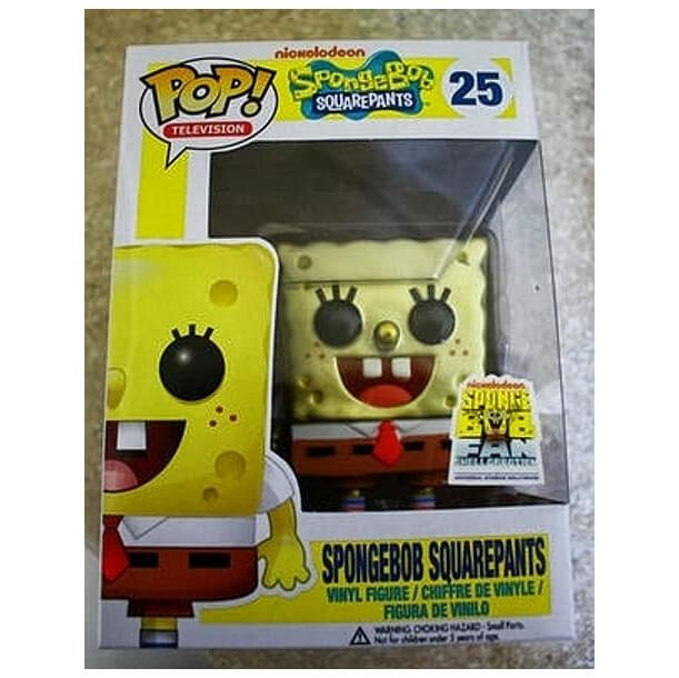 Funko Spongebob Squarepants Metallic Pop Vinyl Pop In