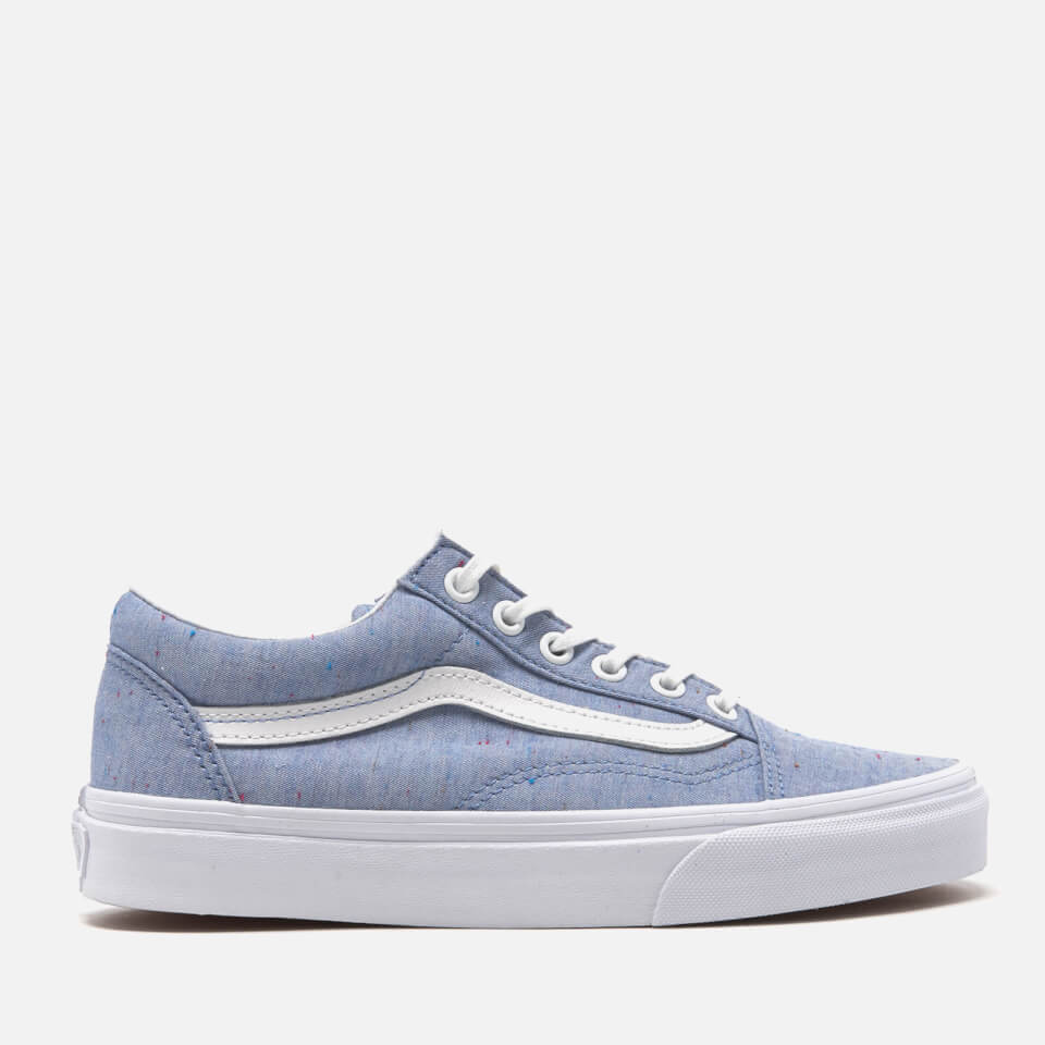 Vans Women S Old Skool Speckle Jersey Trainers Blue True