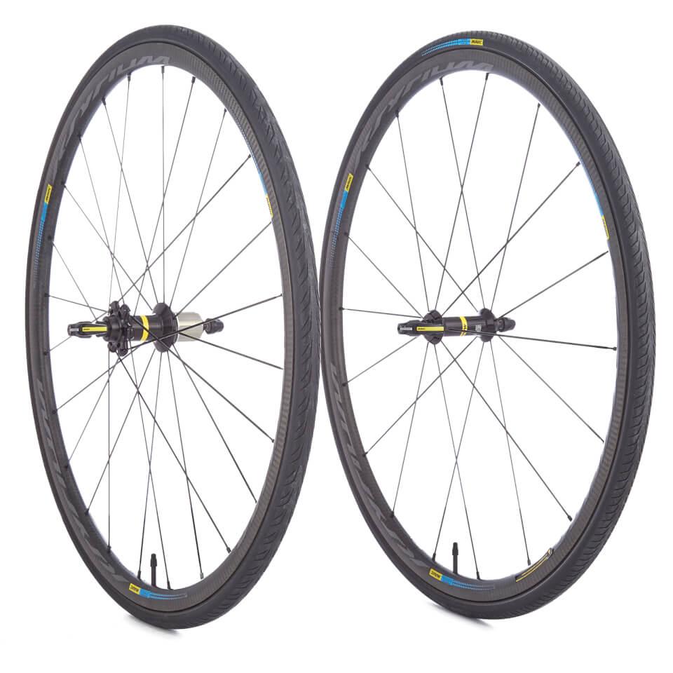 Mavic ksyrium pro carbon sl tubular haute route wheelset for Haute wheels