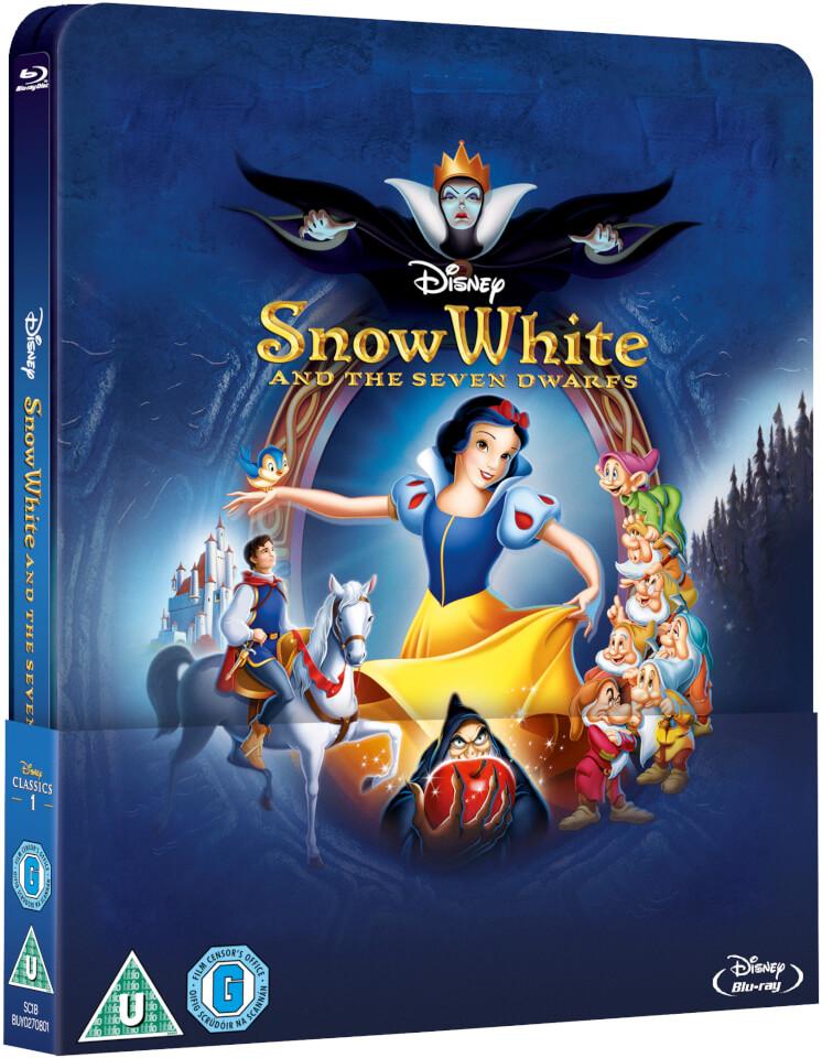 Snow White Zavvi Exclusive Lenticular Edition Steelbook