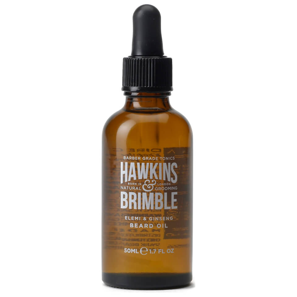 hawkins brimble beard oil 50ml buy online mankind. Black Bedroom Furniture Sets. Home Design Ideas