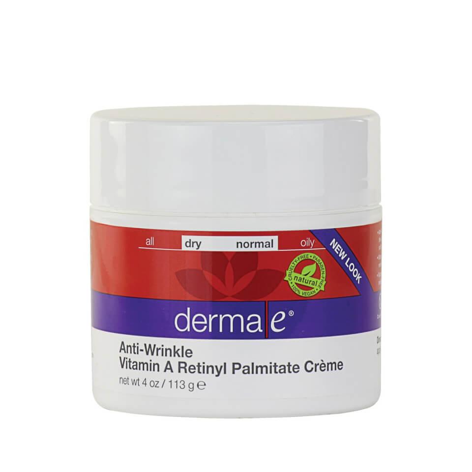 derma e anti wrinkle vitamin a retinyl palmitate creme. Black Bedroom Furniture Sets. Home Design Ideas