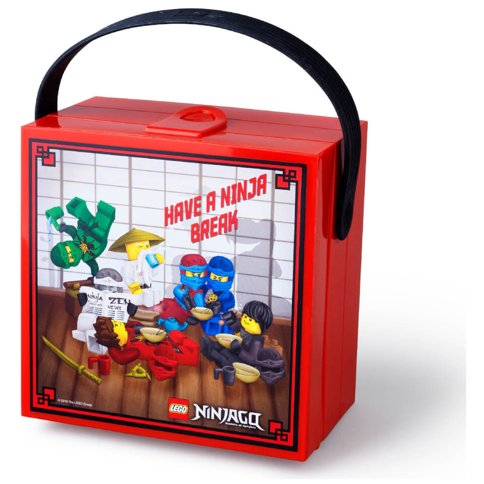 Lego Lunch Box With Handle Lego Ninjago Toys Zavvi