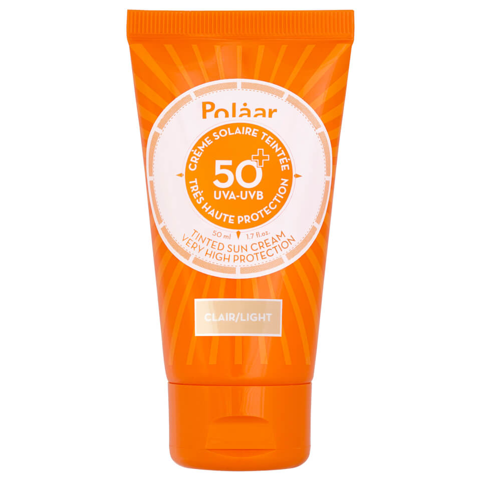 polaar very high protection sun cream spf 50 tinted 50ml hq hair. Black Bedroom Furniture Sets. Home Design Ideas