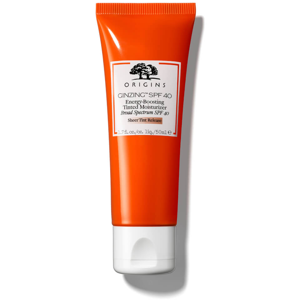 Origins GinZing™ Energy-Boosting Tinted Moisturiser SPF40 50ml
