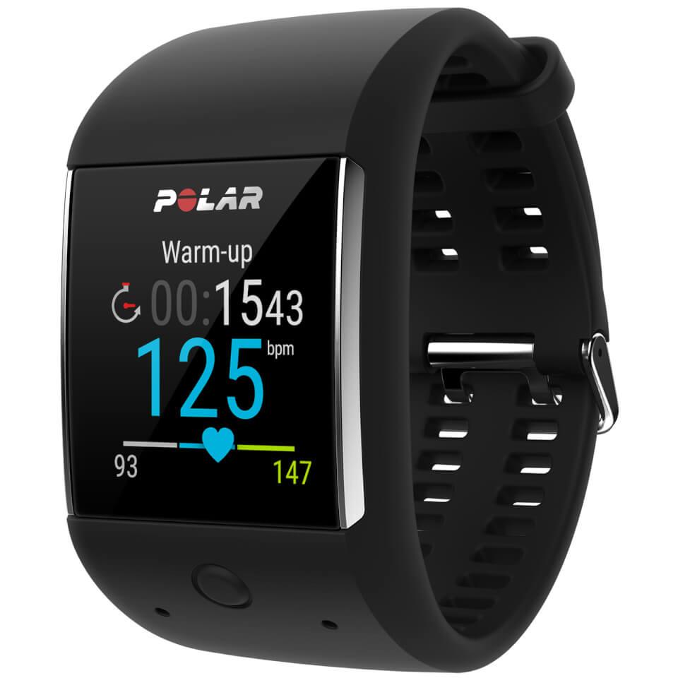 Polar M600 GPS Sports Smartwatch - Black   Sports watches