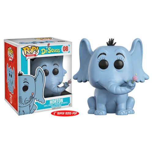 Dr Seuss Horton 6 Inch Pop Vinyl Figure Pop In A Box Us